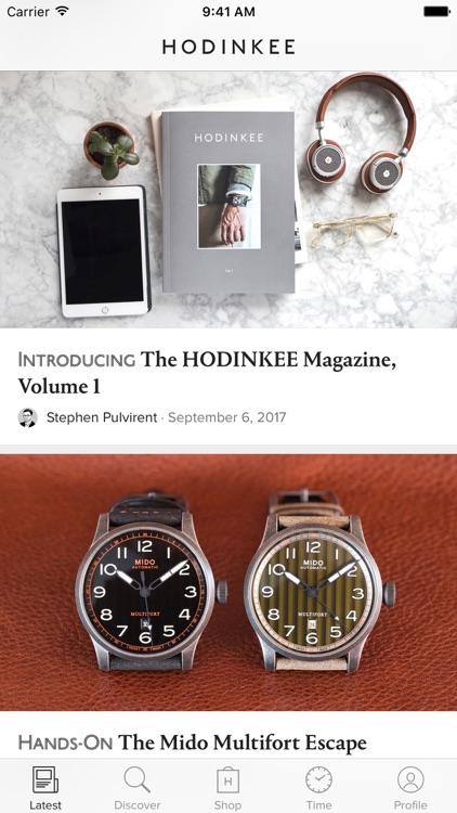 HODINKEE