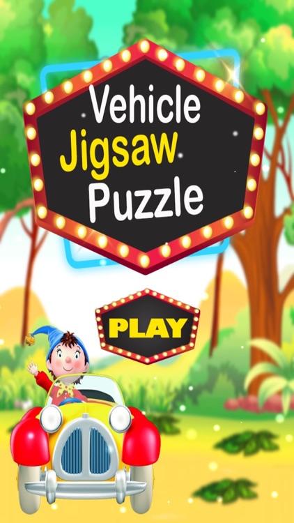 Vehicle Jigsaw Puzzle PRO