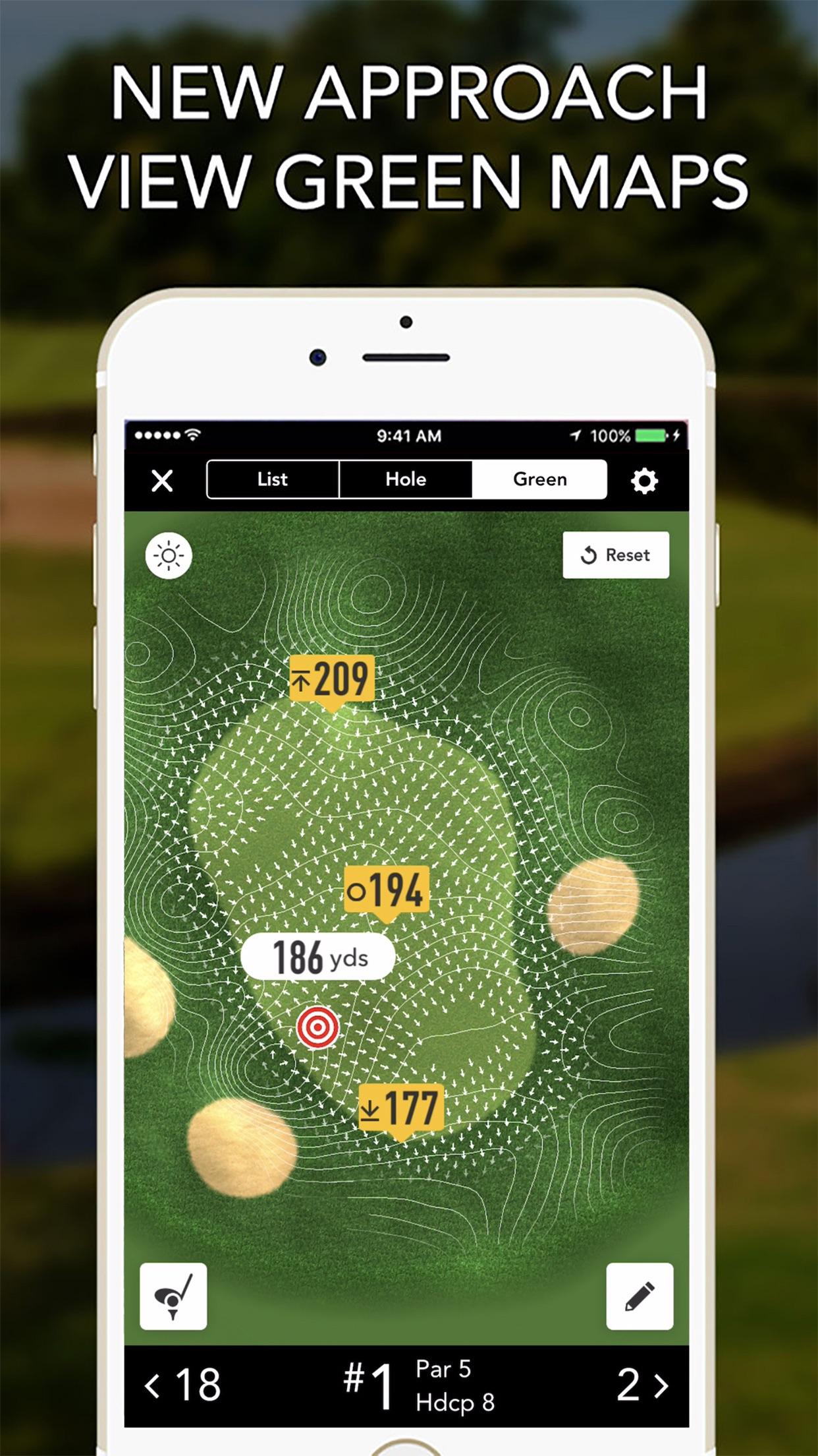 GolfLogix GPS + Putt Breaks Screenshot