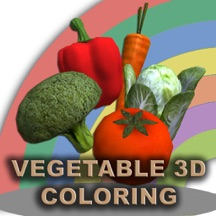 Vegetable 3D Coloring