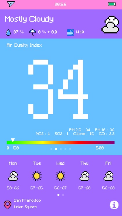 Pixel Weather - Forecast screenshot-3
