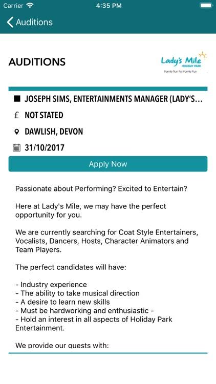 The Stage Jobs & Auditions screenshot-3