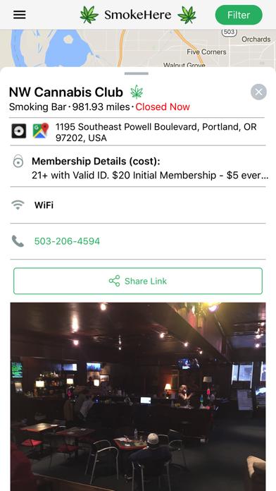 SmokeHere App screenshot three