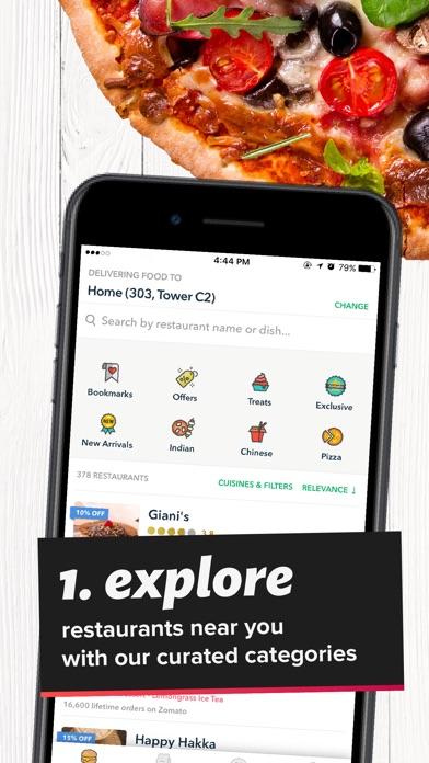 Screenshot for Order by Zomato in Lebanon App Store