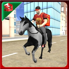 Activities of Pizza Delivery Boy- Horse Ride