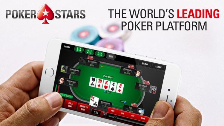 PokerStars: Poker Games Online screenshot-0