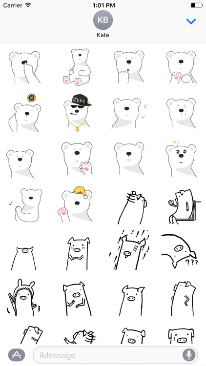 Animated Animal Stickers!