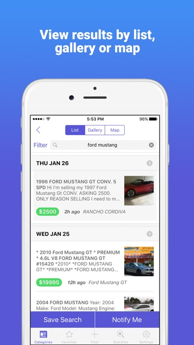 Classifieds 2.0 Daily Listings app image