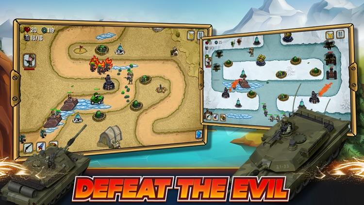 Tower Defense: Modern War PRO screenshot-0