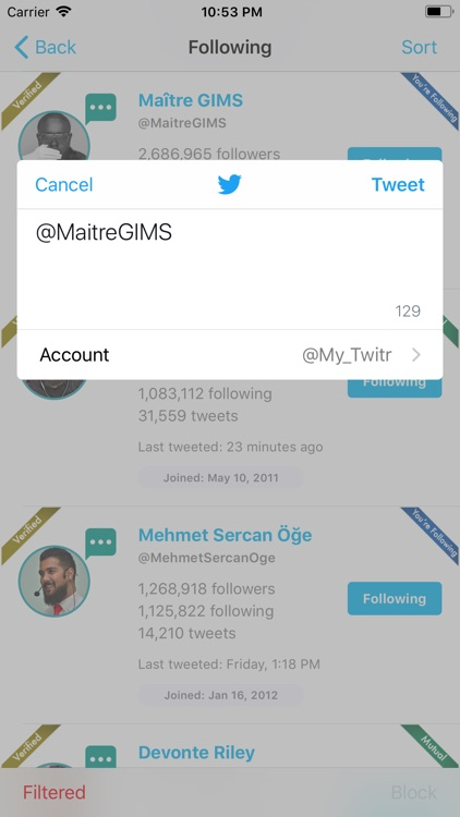 Find Unfollowers For Twitter screenshot-8