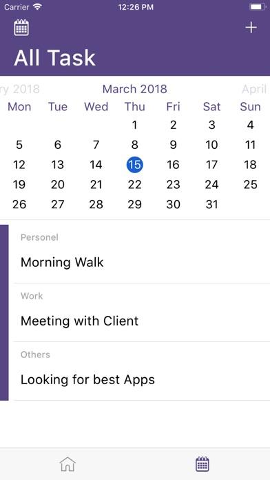 ToDo task-list manager tool screenshot 2