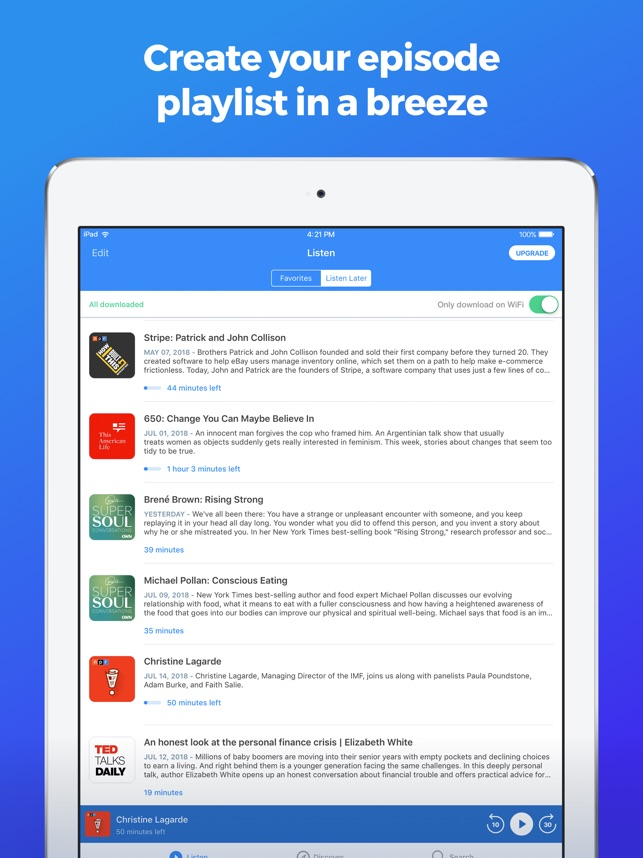 The Podcast App on the App Store