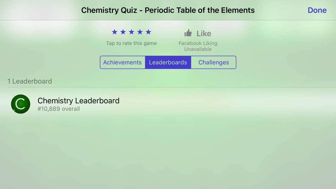 Chemistry Periodic Table Of The Elements Quiz Online Game Hack And