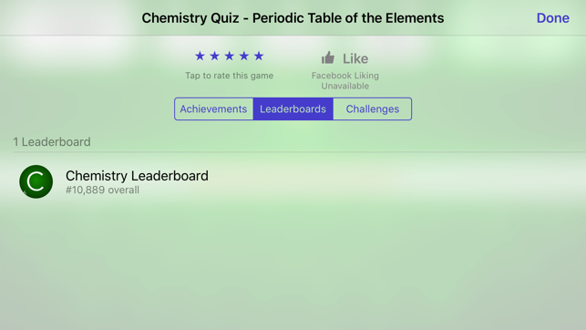 Chemistry periodic table of the elements quiz on the app store urtaz Images