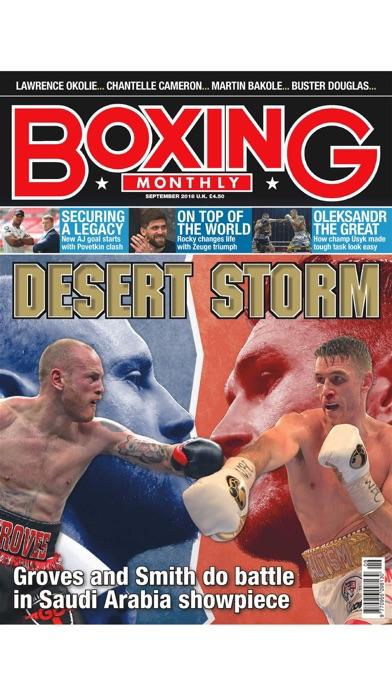 Boxing Monthly Magazine screenshot1