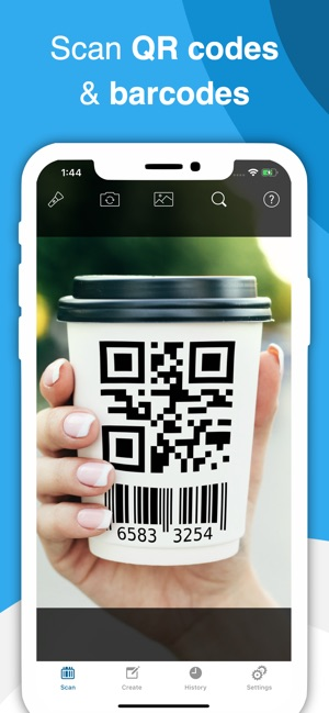 QR Code & Barcode Scanner ・ on the App Store