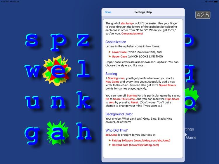 abcJump: the ABC Alphabet game screenshot-3