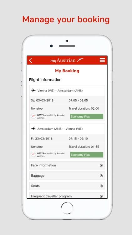 Austrian Airlines screenshot-3