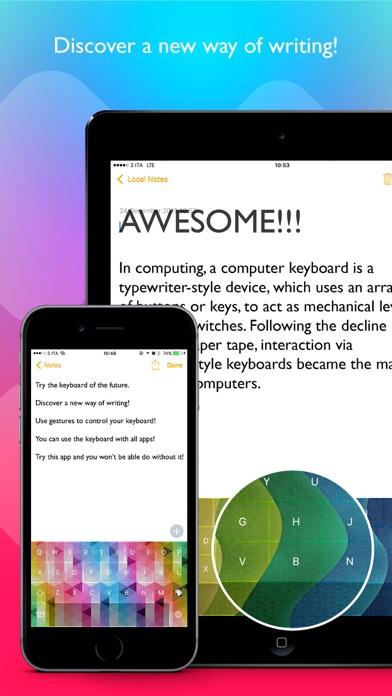 Color Swipe Keyboard screenshot three