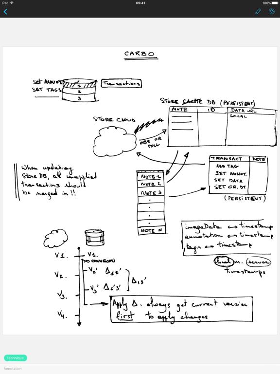 Screenshot #6 pour Carbo - Notes et dessins