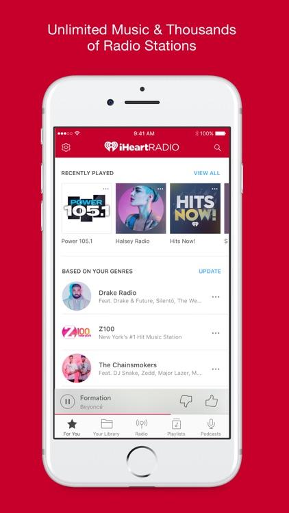 iHeartRadio – Music & Radio screenshot-0