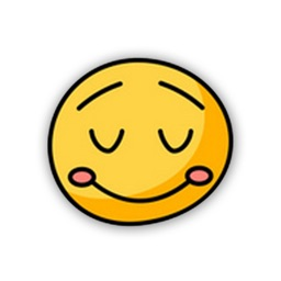 Hand Drawn Cute Emoji Sticker