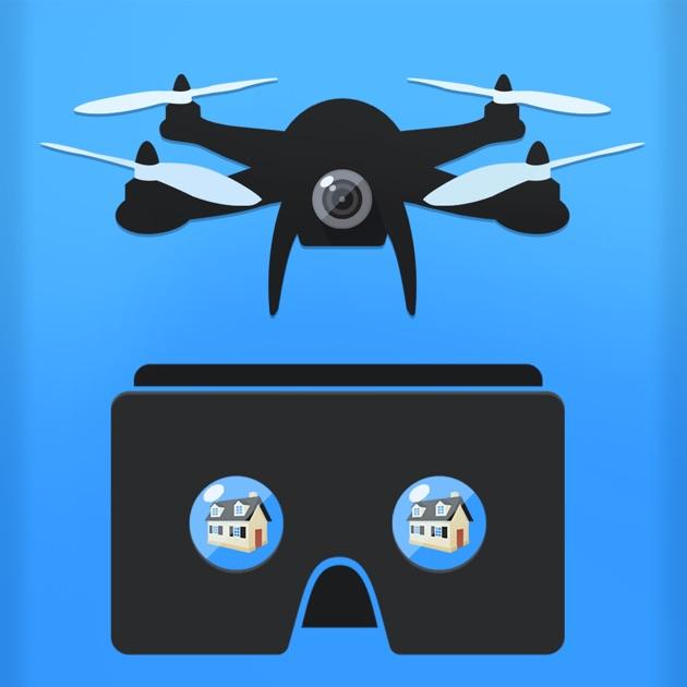 Fpv App: DJI Drone Flight In Real 3D VR FPV On The App Store