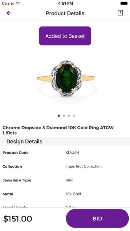 Gemporia Jewelry Auctions screenshot-3