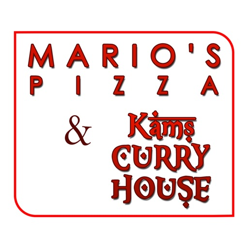 Marios Pizza and Kams Curry