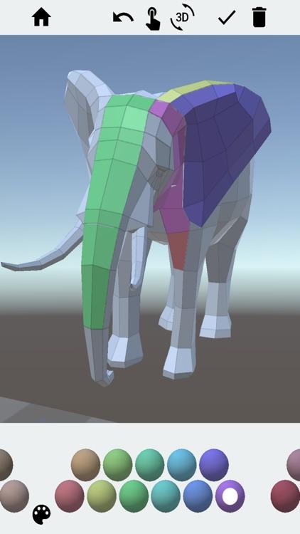 3D Adult Coloring Book Pro screenshot-6