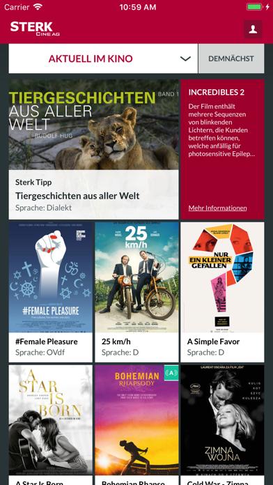 Kino Sterk screenshot one