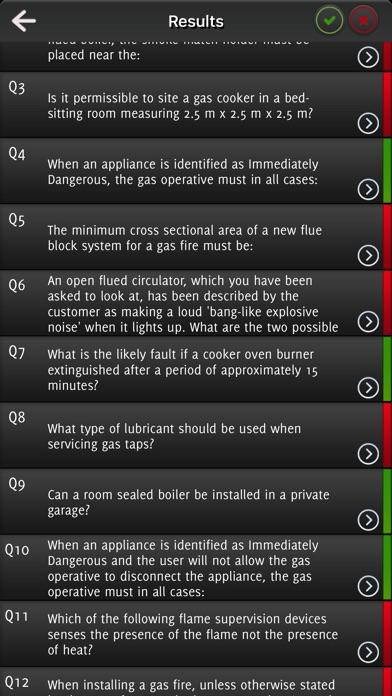 Natural Gas Safety Exam screenshot 3