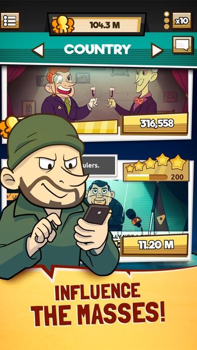 Screenshot of We Are Illuminati - Clicker App