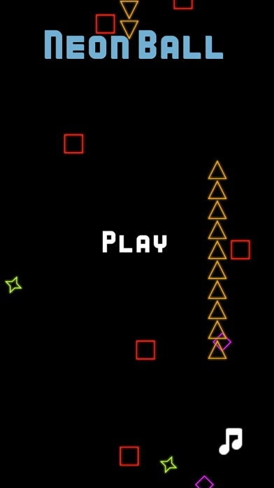 Neon Ball Arcade Screenshot 1