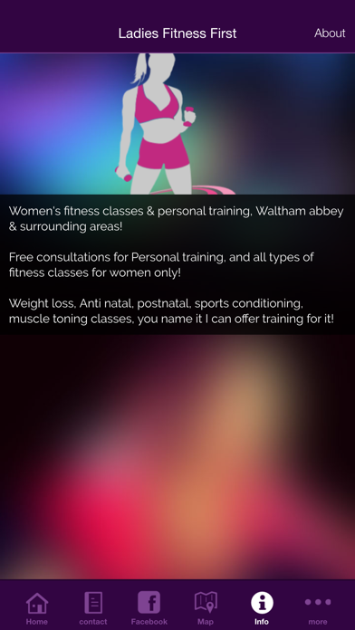 Ladies Fitness First screenshot three