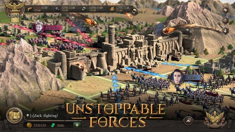 Immortal Conquest-War Strategy screenshot-4