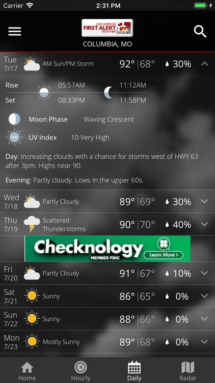 KOMU 8 Weather App screenshot-4