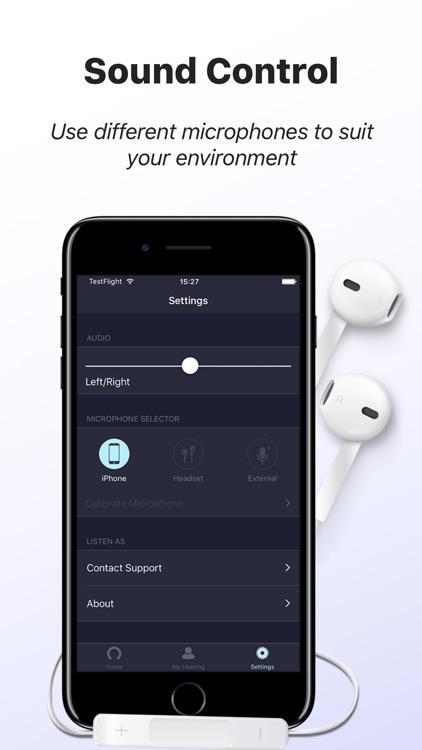 Mobile Ears: Hearing Aid & Speech Amplifier screenshot-4