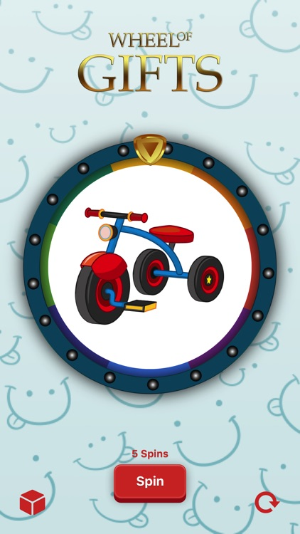 Fun Wheel of Gifts for Kids