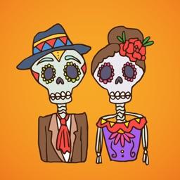 Dia de Muertos Dead Day Pack
