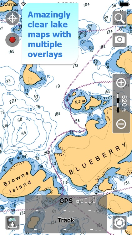 Aqua Map Ontario Lakes GPS screenshot-0