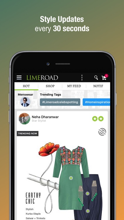 Limeroad Shopping screenshot-0