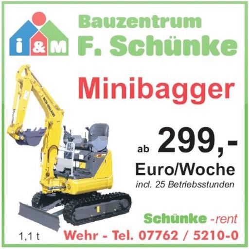 F. Schünke Bauzentrum by Tobit.Software