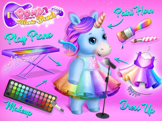 Pony Sisters Pop Music Band screenshot 9