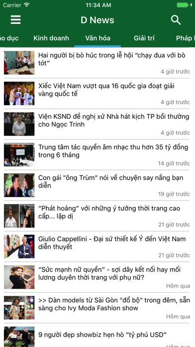 D News - Đọc báo, tin tức mới nhất 24h screenshot four