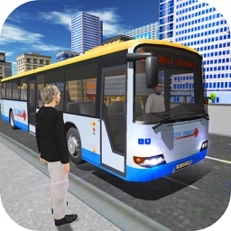 Public Bus City 3D