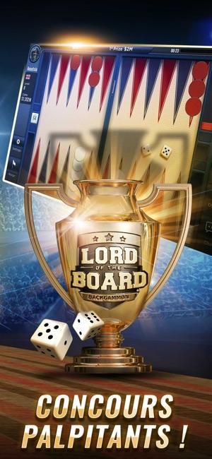 backgammon lord of the board dans l app store. Black Bedroom Furniture Sets. Home Design Ideas