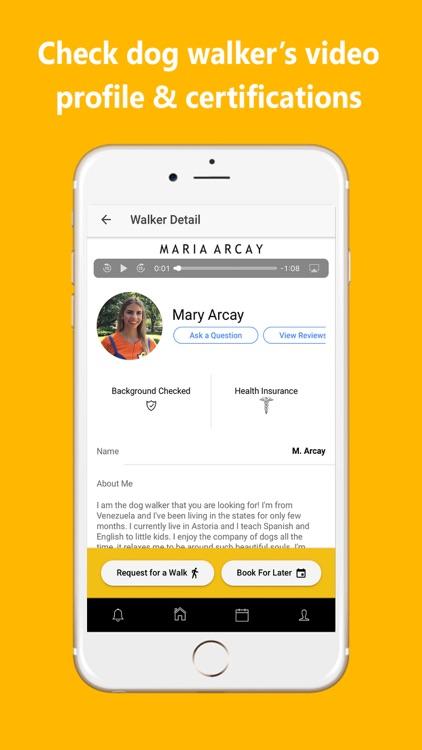 UDog On Demand Dog Walking App