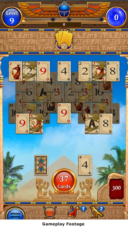 Card of the Pharaoh: Solitaire screenshot-3