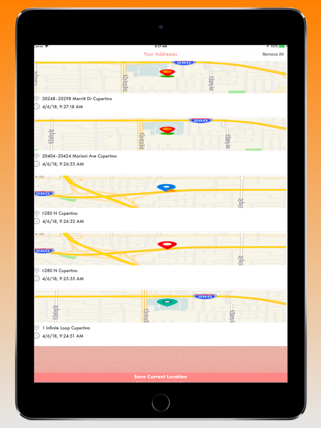 Your GPS Location Finder Pro Screenshot